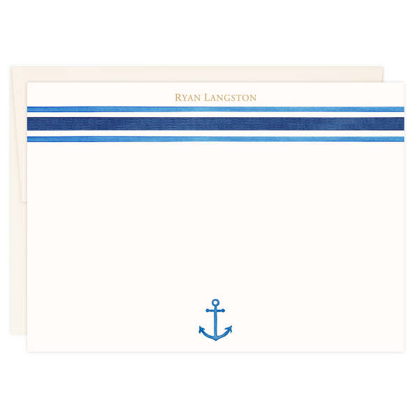 Navy Stripes | Classic Notes