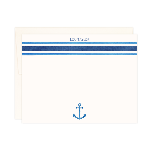 Navy Stripes | Small Notes