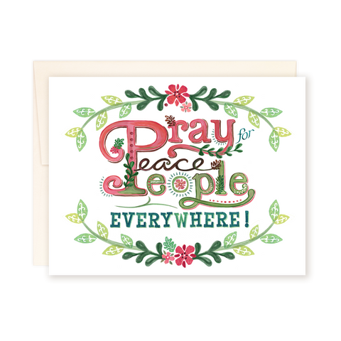 Pray for Peace Card