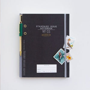 STANDARD ISSUE NOTEBOOK NO.3