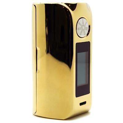 Asmodus Minikin 2-Grit Gold and Green Chrome In Stock! - Cloudy Peak Vapes