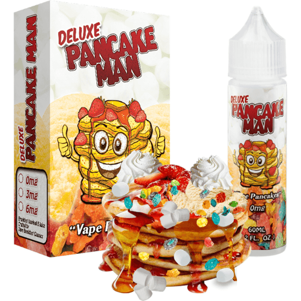 Vape Breakfast Classics-Delue Pancake Man - Cloudy Peak Vapes