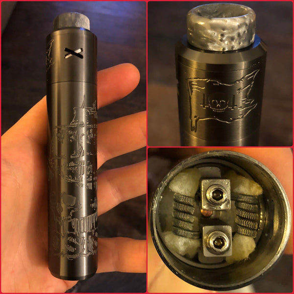 "Deathwish Modz-Limited Edition Barebones/Unholy V2 ""GHOST SHIP"" - Cloudy Peak Vapes"