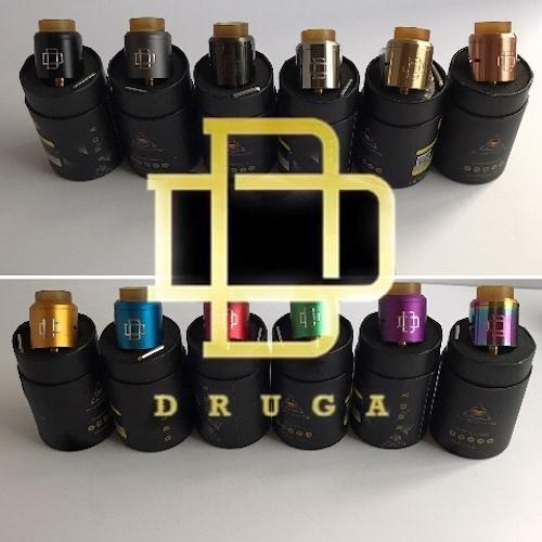 Augvape-Druga RDA 24mm Squonk Pin Included! - Cloudy Peak Vapes