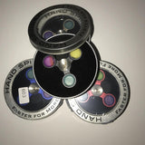 CAC STARSS Hand Spinners (Triple Round Stabilized Hole) - Cloudy Peak Vapes