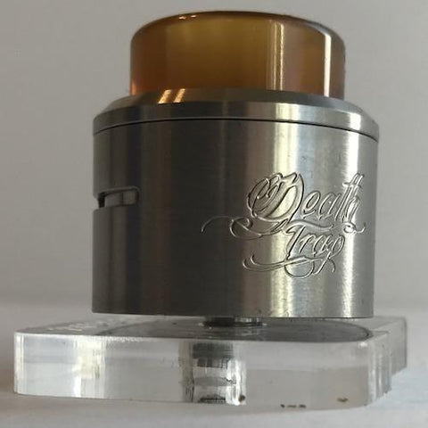 Deathwish Modz-Deathtrap RDA-In Stock! - Cloudy Peak Vapes