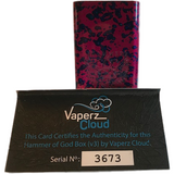 Vaperz Cloud-Hammer Of God V3.1 Multiple Colors In Stock - Cloudy Peak Vapes