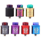 Hellvape-Dead Rabbit RDA Designed by Vapin' Heathen-3 Gold & 3 Aluminum Colors IN STOCK NOW!- - Cloudy Peak Vapes