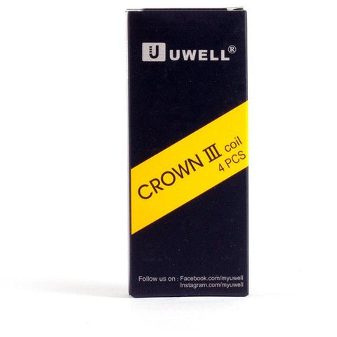 UWELL - Crown III Coils - Cloudy Peak Vapes