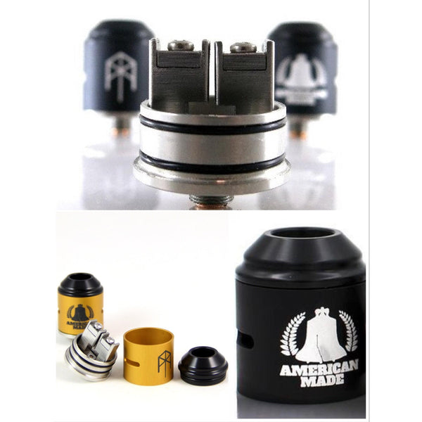 Vaping Amp-M. Terk 24mm Two Post Clamp RDA - Cloudy Peak Vapes