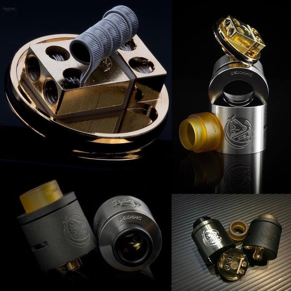 District F5ve-24mm Cosmonaut (CSMNT) RDA-7 New Colors In Stock! - Cloudy Peak Vapes