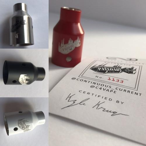 Continuous Current-Payload RDA(New Colors In Stock!) - Cloudy Peak Vapes