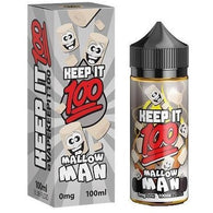 Keep It 100-Mallow Man - Cloudy Peak Vapes
