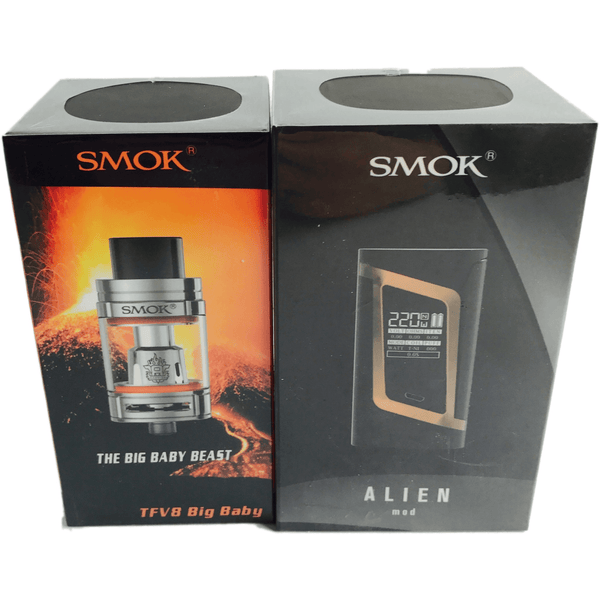 Smok-Big Alien Kit, Big Baby Beast & Alien Mod - Cloudy Peak Vapes