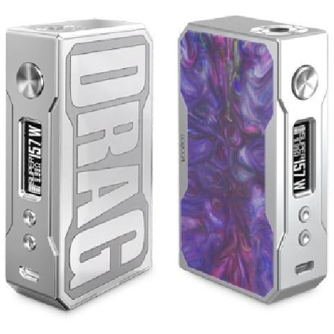 VooPoo-DRAG 157W TC Mod Resin Version-Re Stocks In! - Cloudy Peak Vapes