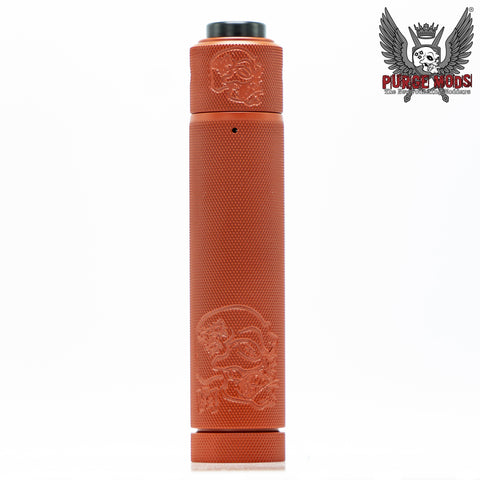Purge Mods-Back to Basics v4 Knurled Kit - Cloudy Peak Vapes
