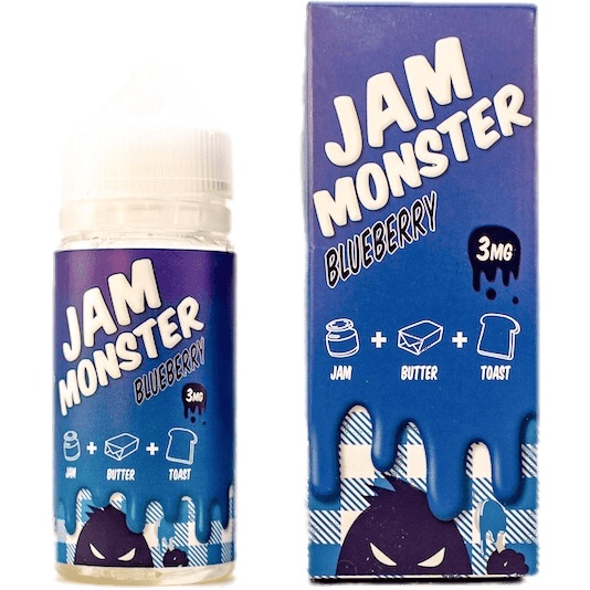 Jam Monster-Blueberry - Cloudy Peak Vapes