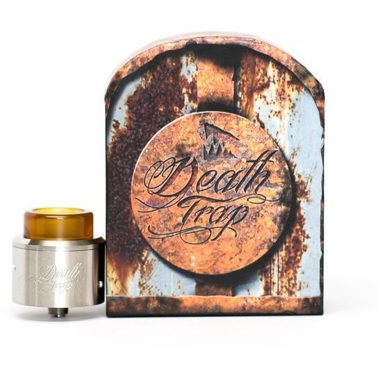Deathwish Modz-Deathtrap RDA-Gunmetal Re Stock Incoming! - Cloudy Peak Vapes