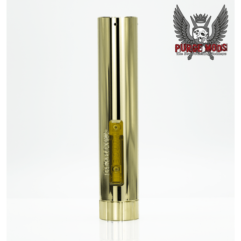 Purge Mods-The Stacked Piece Cerakoted and Brass - Cloudy Peak Vapes