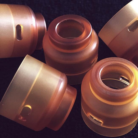 Purge Mods-Carnage RDA Ultem Cap Re Stock Incoming - Cloudy Peak Vapes