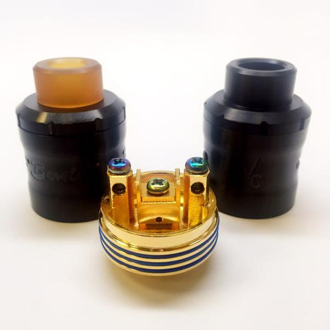 Vaperz Cloud-Buddha Z V4.1 30mm RDA (Discontinued) - Cloudy Peak Vapes
