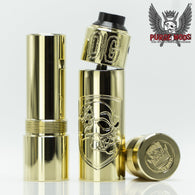 Purge Mods-Skull and Shield Mod with OG Cap & Carnage Deck - Cloudy Peak Vapes