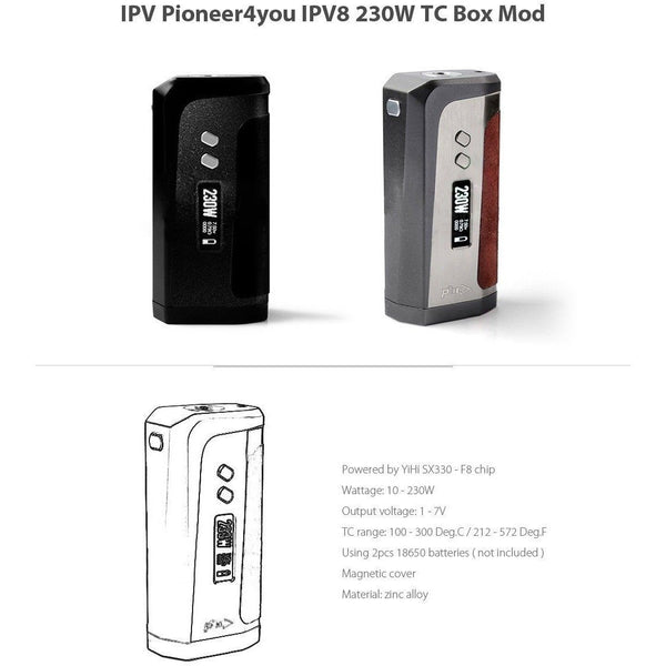 Pioneer4You-iPV8 - Cloudy Peak Vapes