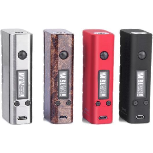 SMY-SDNA 75 (Escribe is available for Mac OS now!)-Wood & Red TPU are all that is left... for good! - Cloudy Peak Vapes