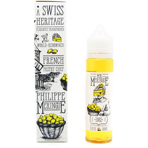 Mr. Meringue-1982 Lemon Meringue - Cloudy Peak Vapes