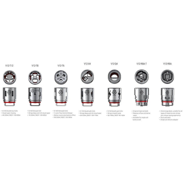 Smok-TFV12 Coils - Cloudy Peak Vapes