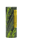 Purge Mods-Cerakoted Slam Piece-Tungsten Green Splatter Brass In Stock! - Cloudy Peak Vapes