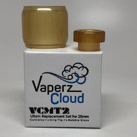 Vaperz Cloud-Ultem Bubble and Drip Tip for VCMT2 25mm - Cloudy Peak Vapes