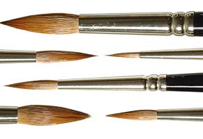 Brushes for Watercolor Painting