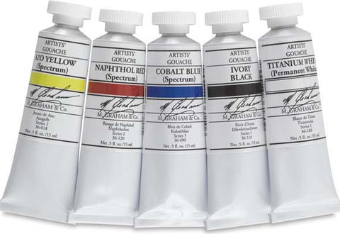 Artist Gouache Colors