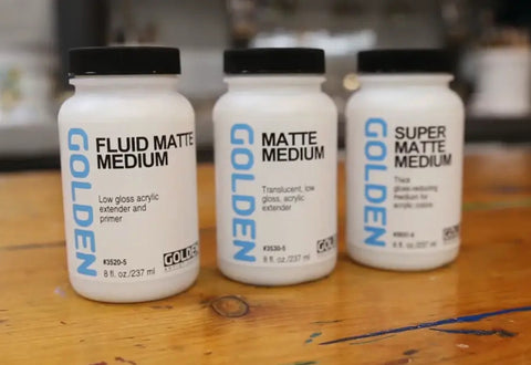 Fluid Acrylic Mediums