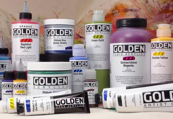 Golden Acrylic Supplies On Sale!
