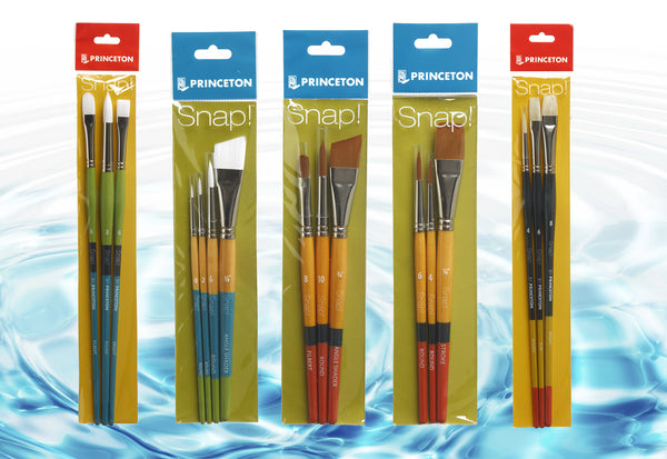 Save on Princeton Snap! Brush Sets