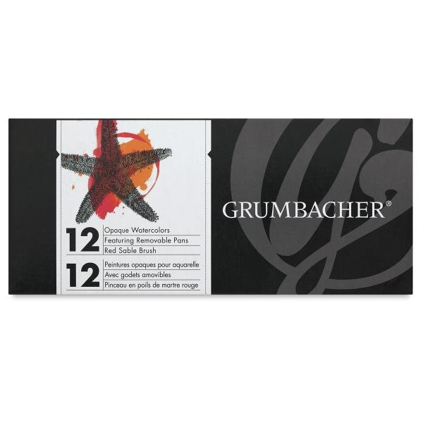 Grumbacher Opaque Watercolor Sets