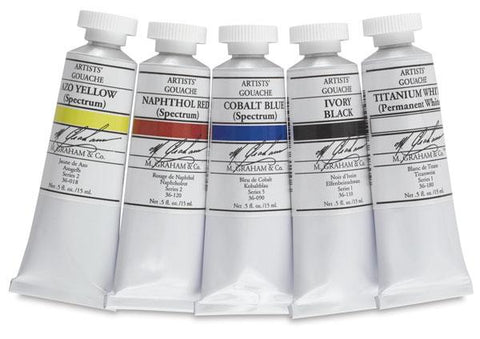 M. Graham Co. Artists' Gouache - 15ml Tubes