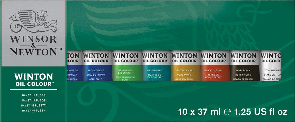 Winton Oil Color Starter Set