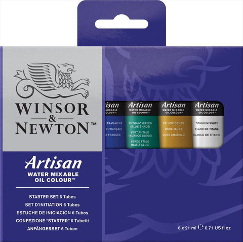 Artisan Water Mixable Oil Colour Set