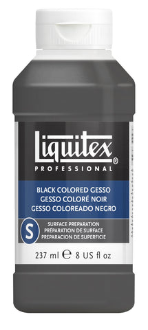 Liquitex Professional Black Gesso - 8oz Bottle