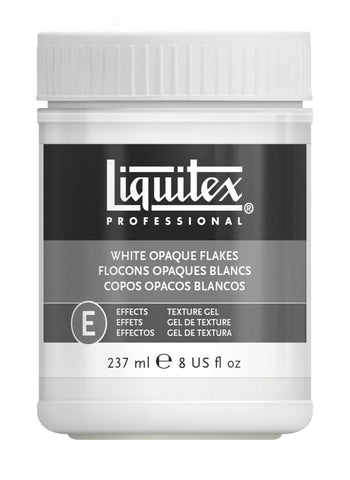 Liquitex White Opaque Flakes