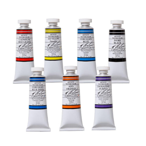 M. Graham Co. Artists' Watercolor - 15ml Tubes
