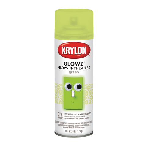 Krylon Glowz Spray Paint - 6oz