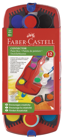 Faber Castell Connector Watercolor Paint Box