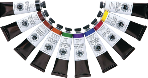 Daniel Smith Water Soluble Oil Colors - 37ml Tubes