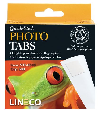 Lineco Infinity Photo Tabs