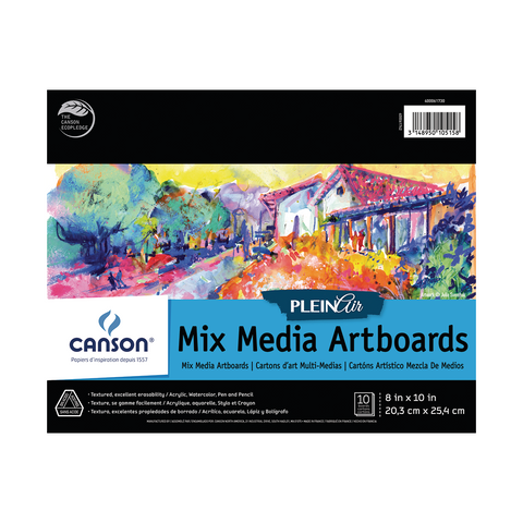 Canson Plein Air Mixed Media Artboard Pad