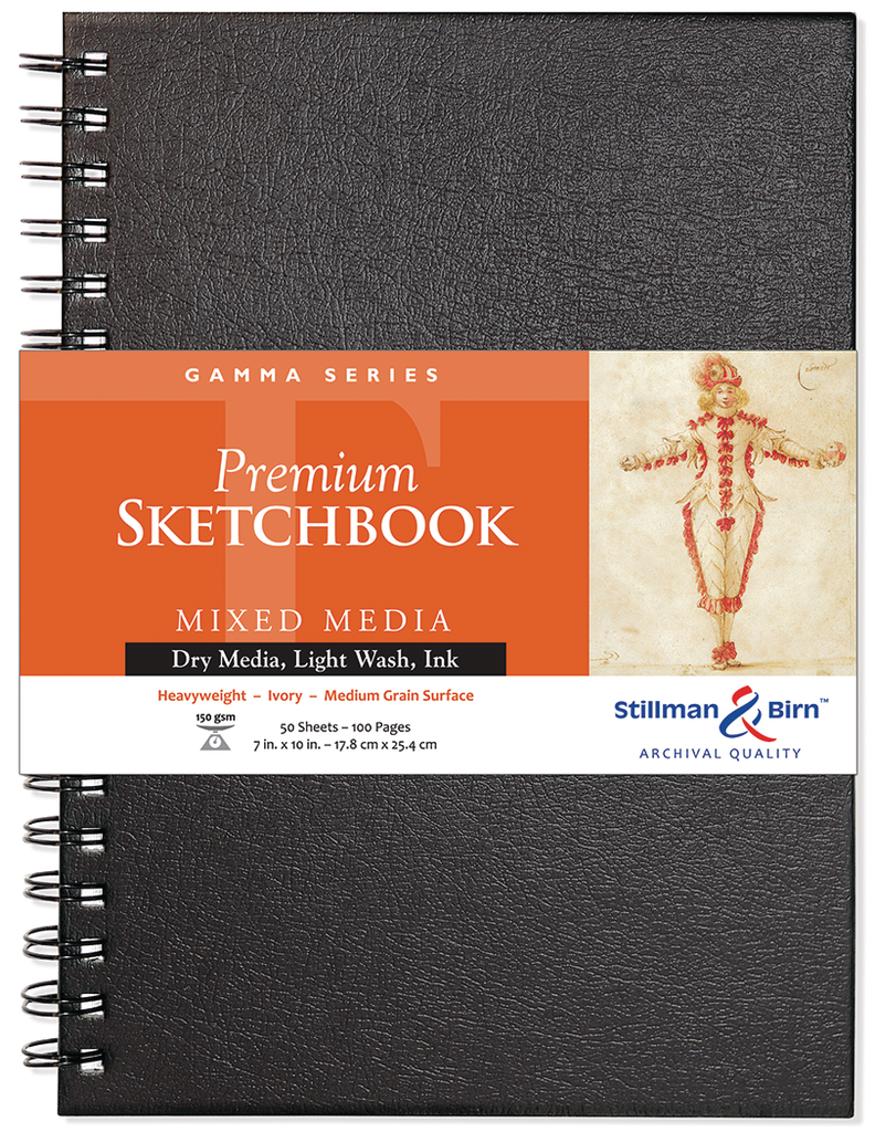 Stillman & Birn Gamma Series Sketchbooks